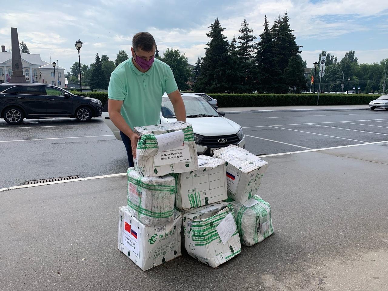 Тольятти получил пять тысяч масок от китайского побратима