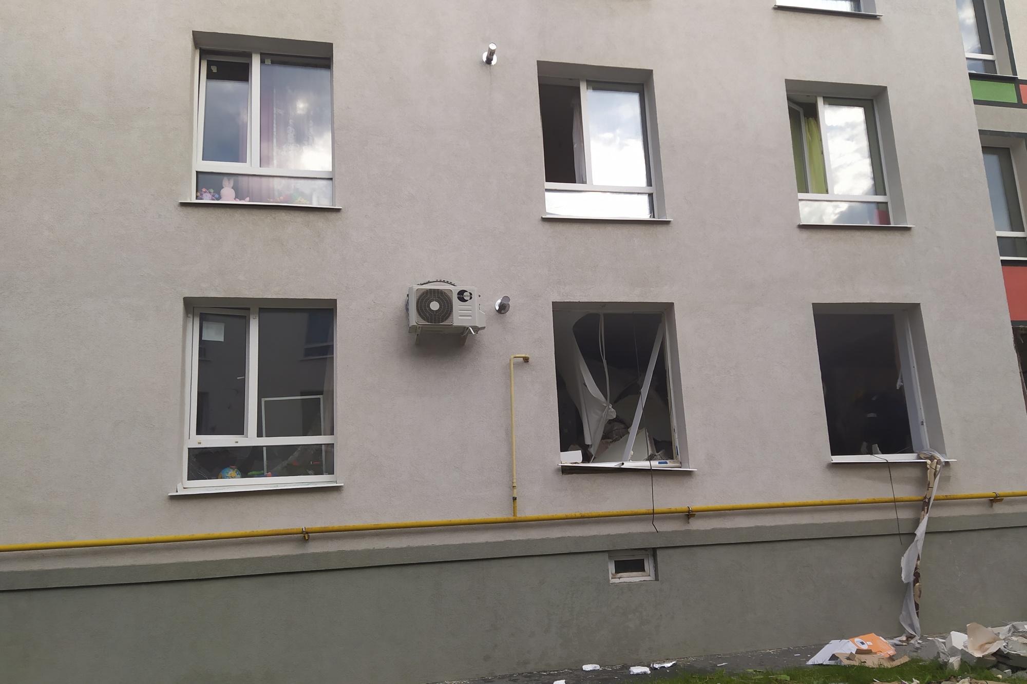 В Самарской области в жилом доме взорвался газ