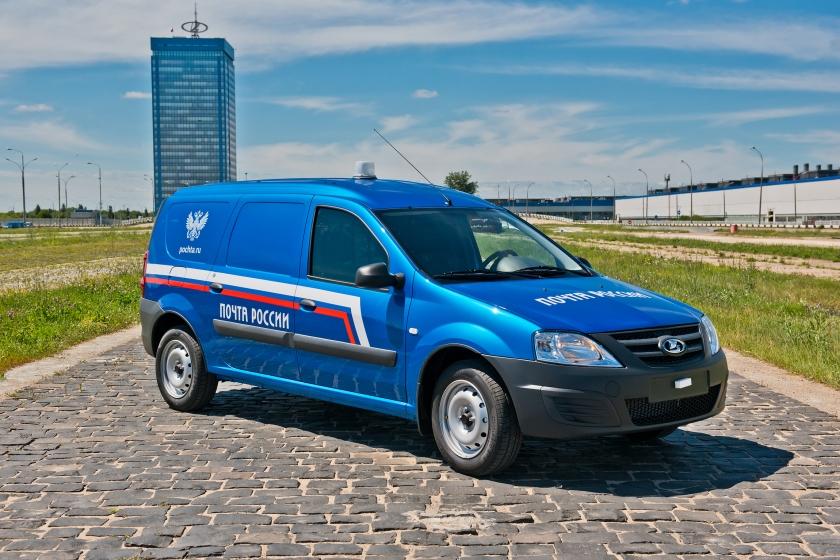 Почта России будет использовать специальные машины от АВТОВАЗа