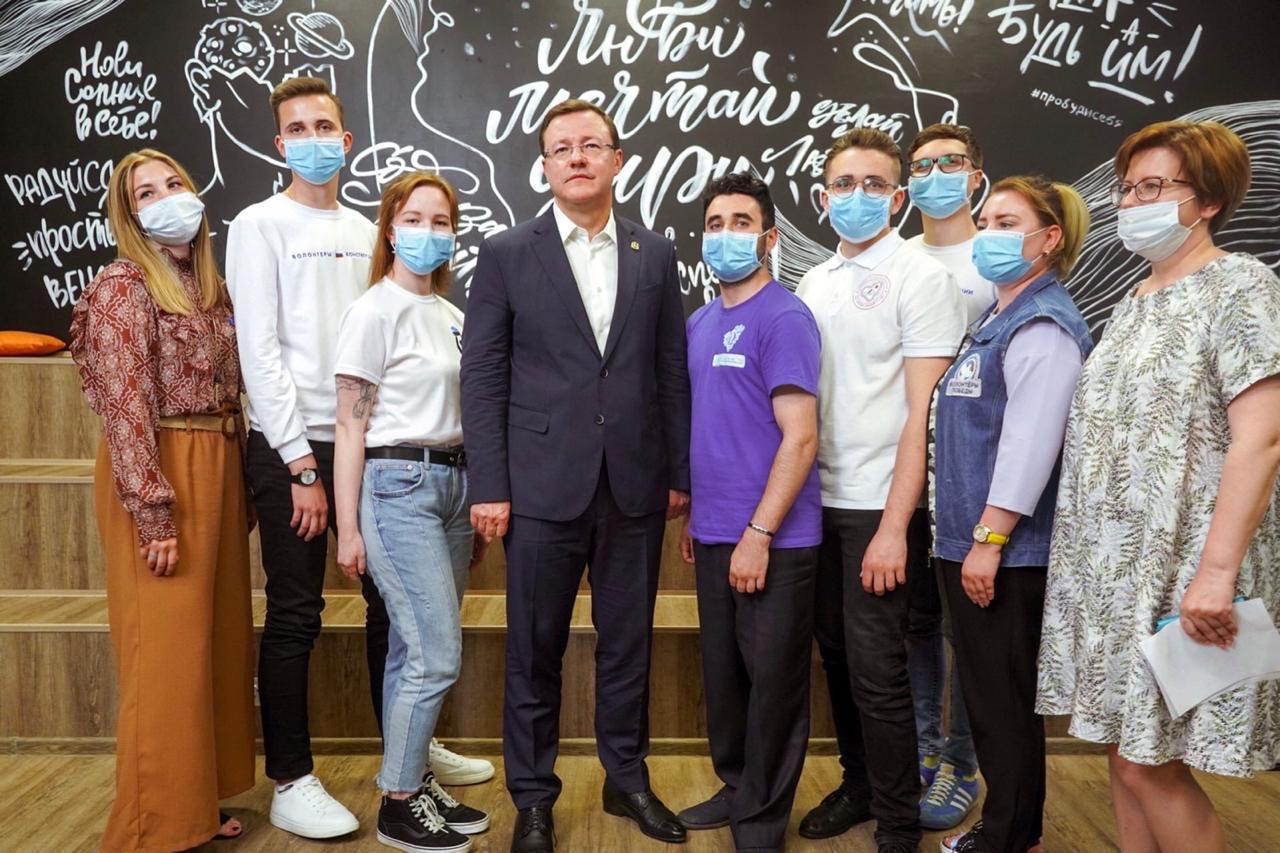 Губернатор Дмитрий Азаров: «Каждому из нас есть за что сказать спасибо волонтерам»