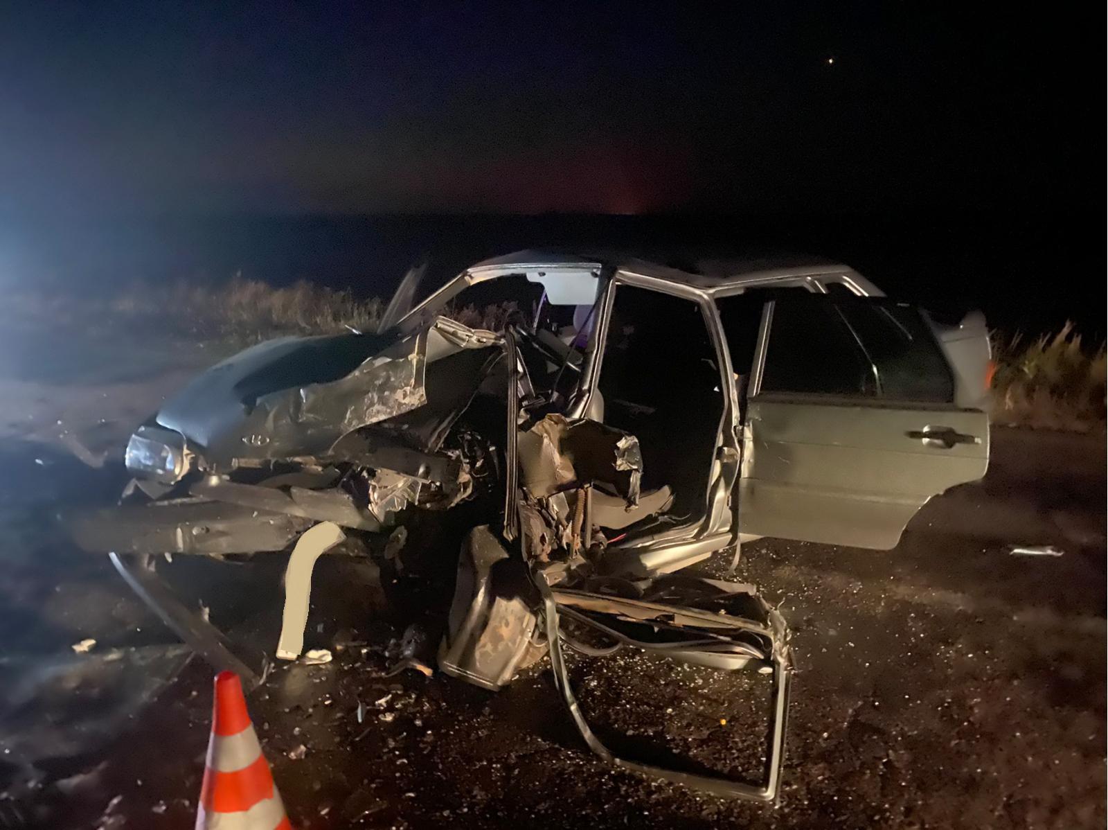 Два человека пострадали в ночной аварии в Самарской области