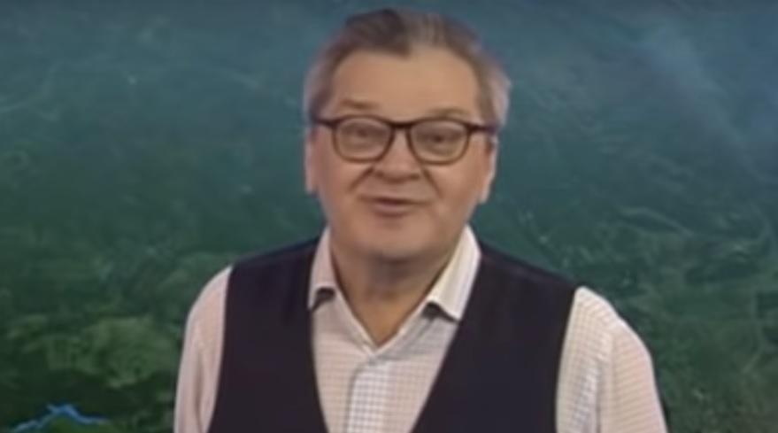 Скончался известный ведущий прогноза погоды Александр Беляев