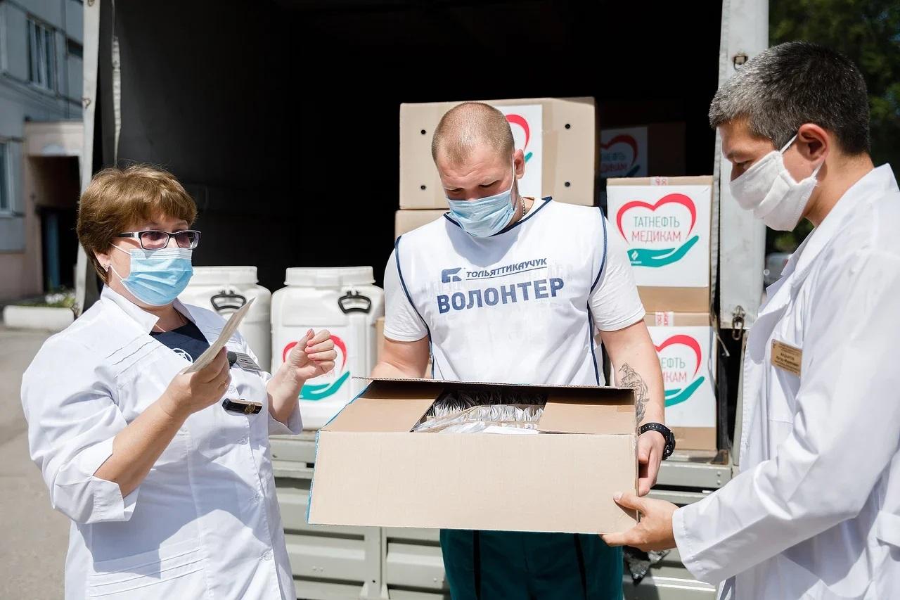 «Тольяттикаучук» передал средства защиты тольяттинским врачам