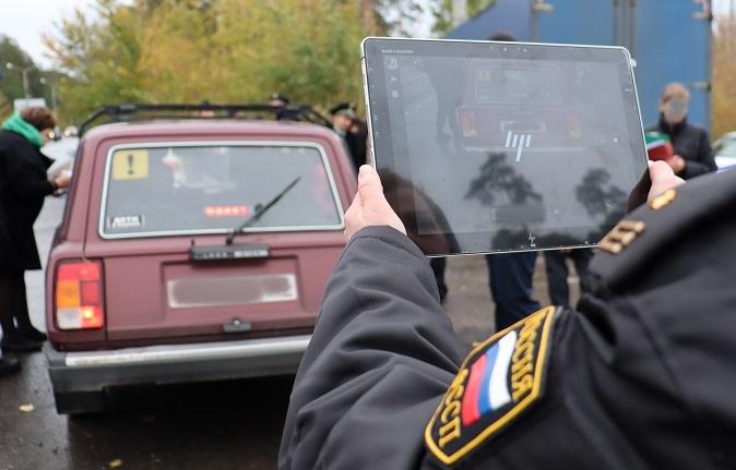 В Самарской области долги догнали водителя прямо на дороге
