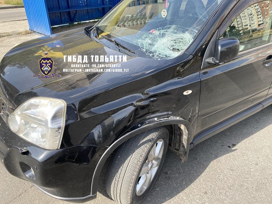 В Тольятти водитель сбил подростка на переходе