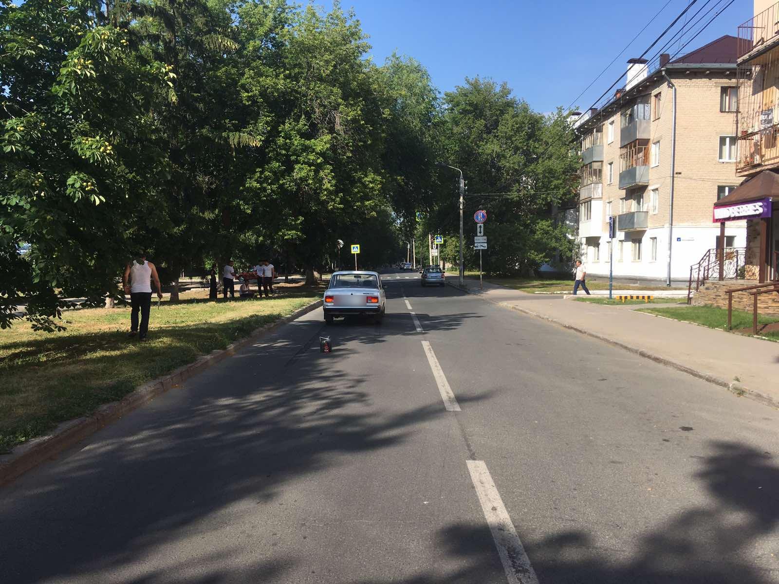 В Тольятти машина сбила первоклашку, которая нарушила ПДД