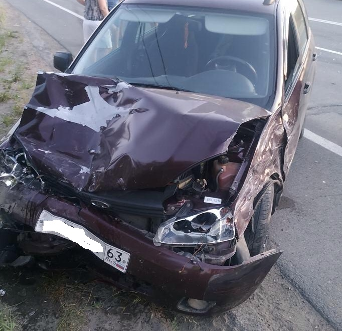 В Тольятти столкнулись четыре машины. Пострадал человек