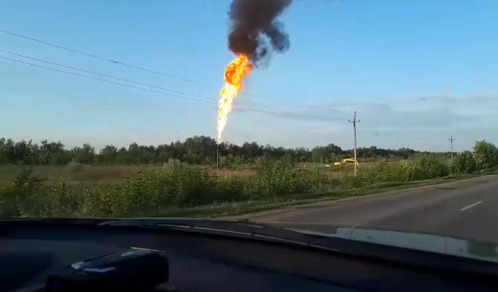 Ликвидация аварии на газопроводе в Самарской области начнется после 14 часов