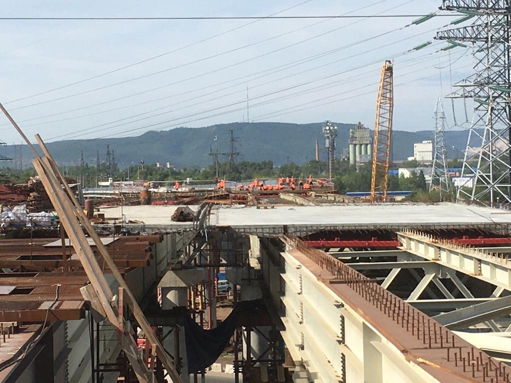 В Самарской области обсуждают завершение строительства развязки на М-5 в Тольятти