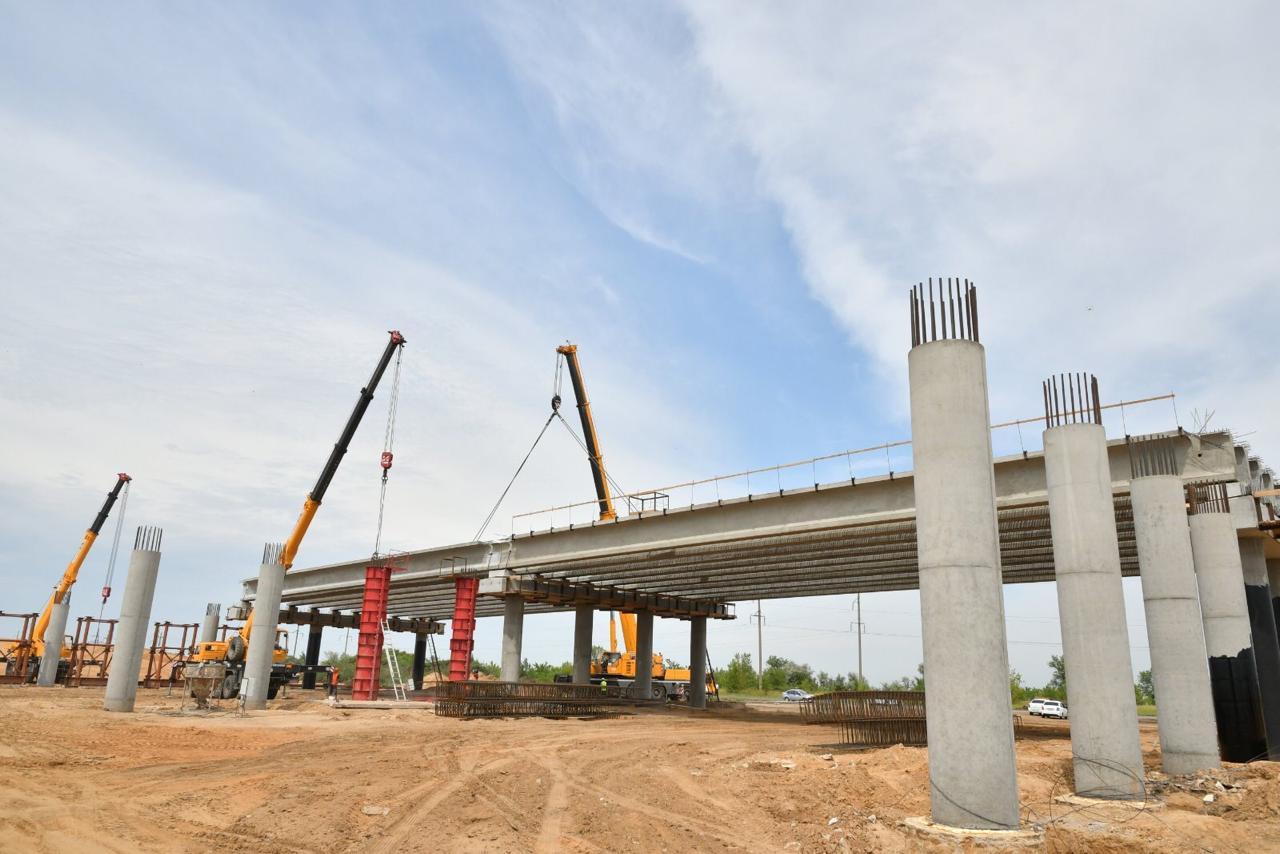 Дмитрий Азаров оценил ход строительства трассы «Тольятти–Ягодное»