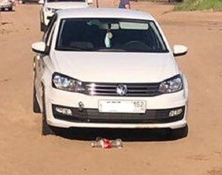 В Тольятти рядом с пляжем автомобиль сбил ребенка