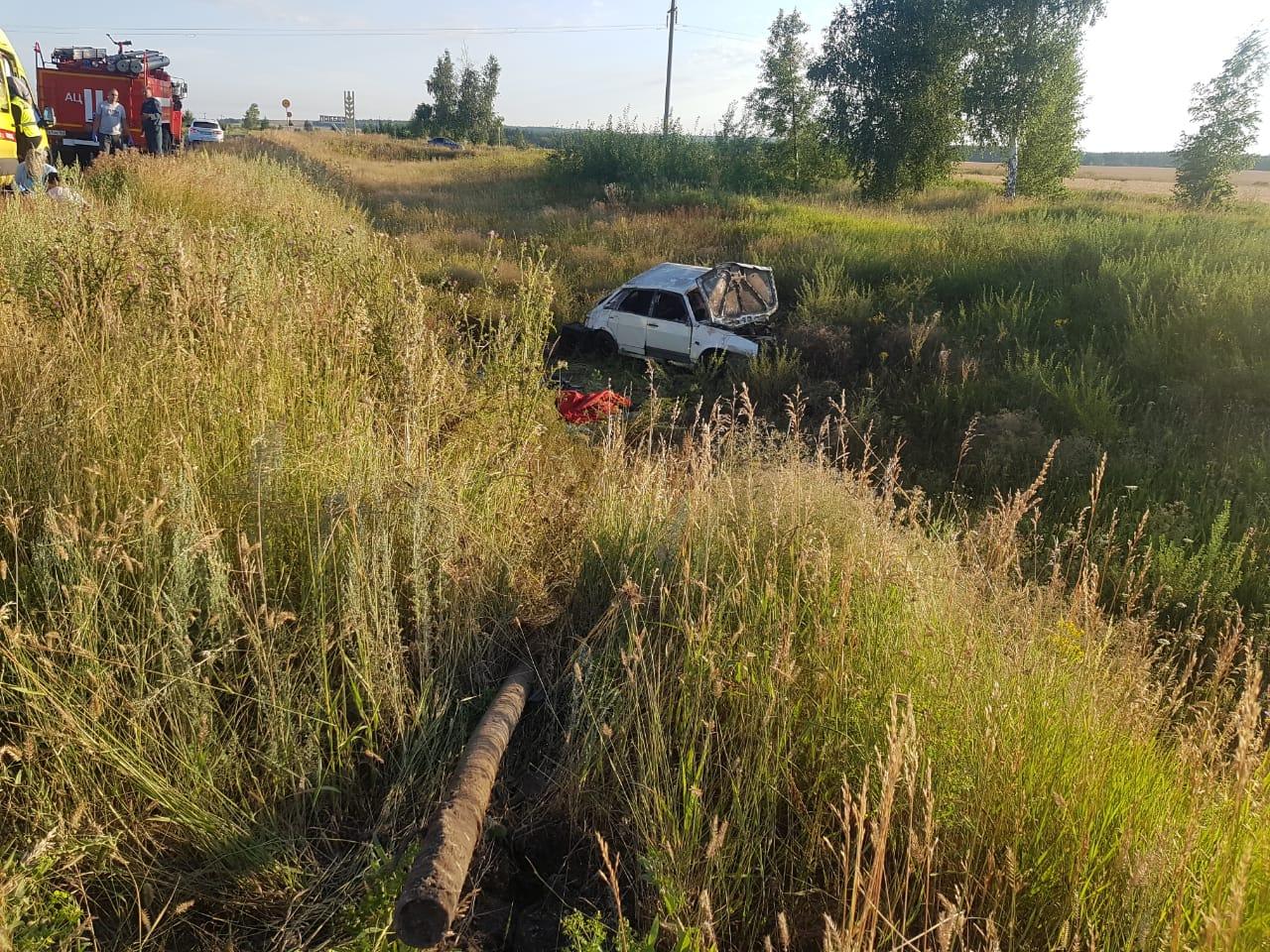 Подросток, погибший в аварии под Тольятти, самовольно взял ключи от автомобиля