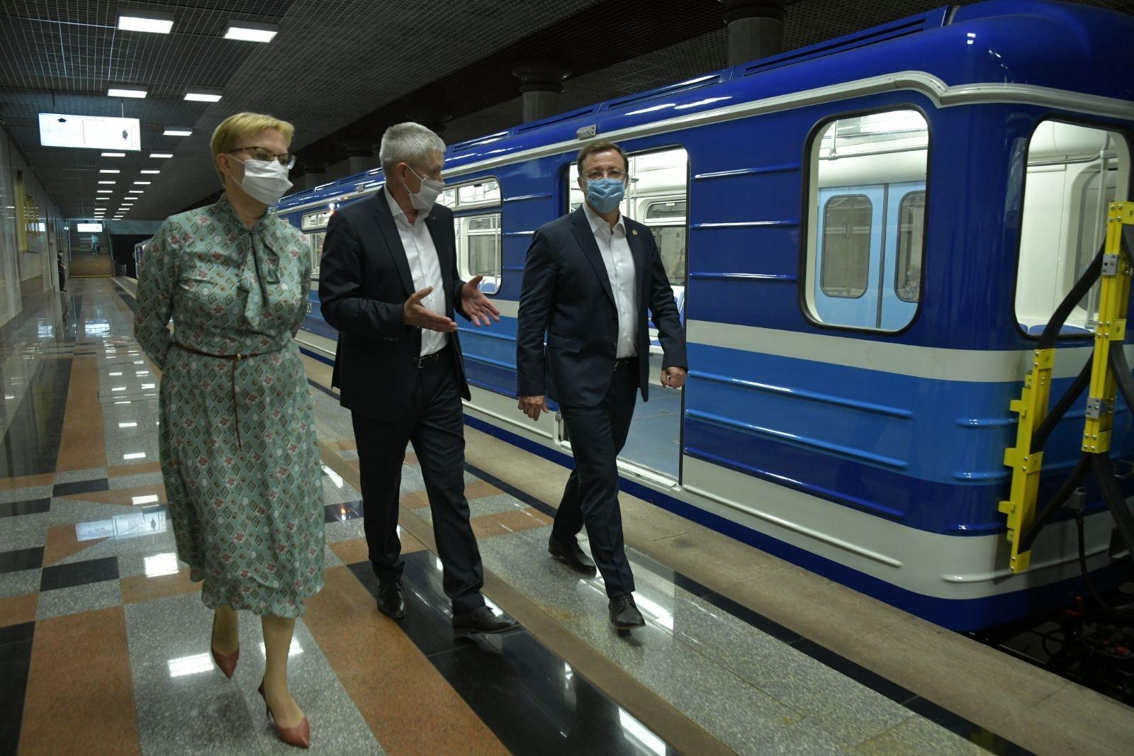 В Самаре впервые за 32 года обновили автопарк метрополитена