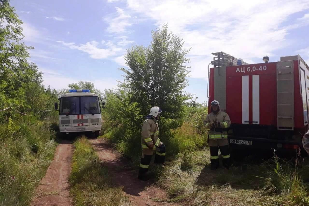 Опубликованы фото с места ликвидации порыва газопровода в Самарской области