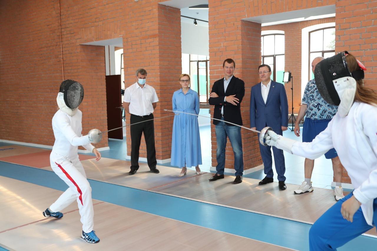 В Самаре готовится к открытию современный центр фехтования