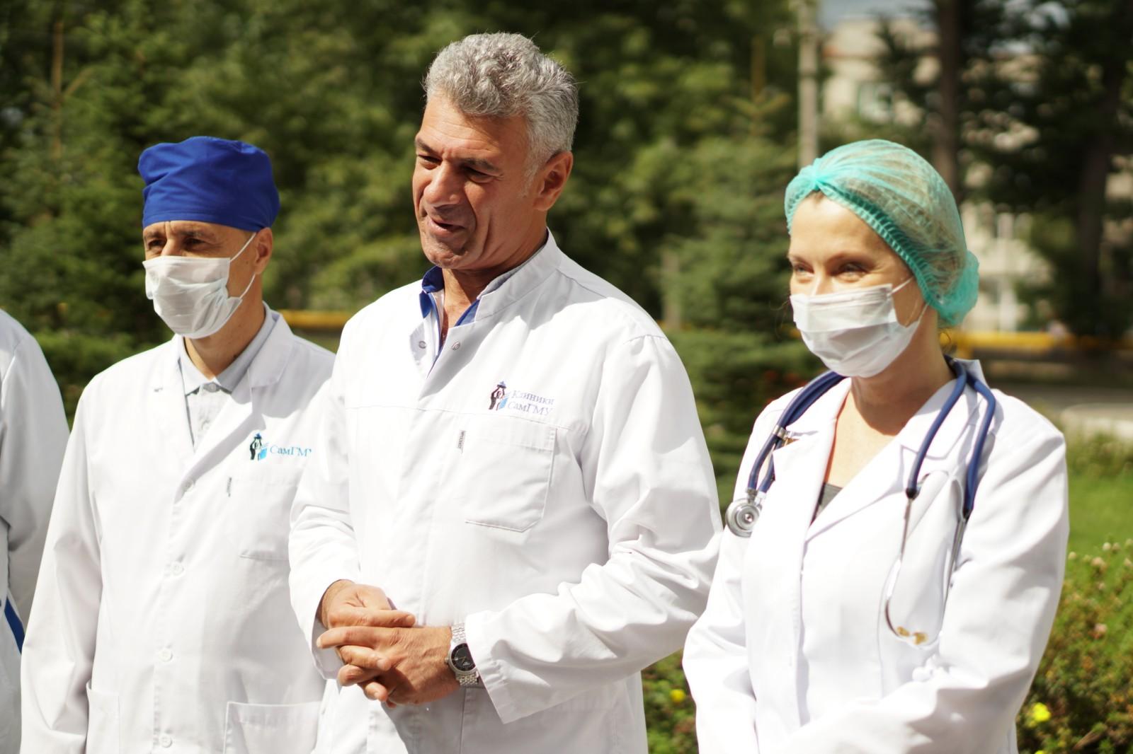 В Самаре закрыли COVID-госпиталь в инфекционном корпусе Клиник СамГМУ