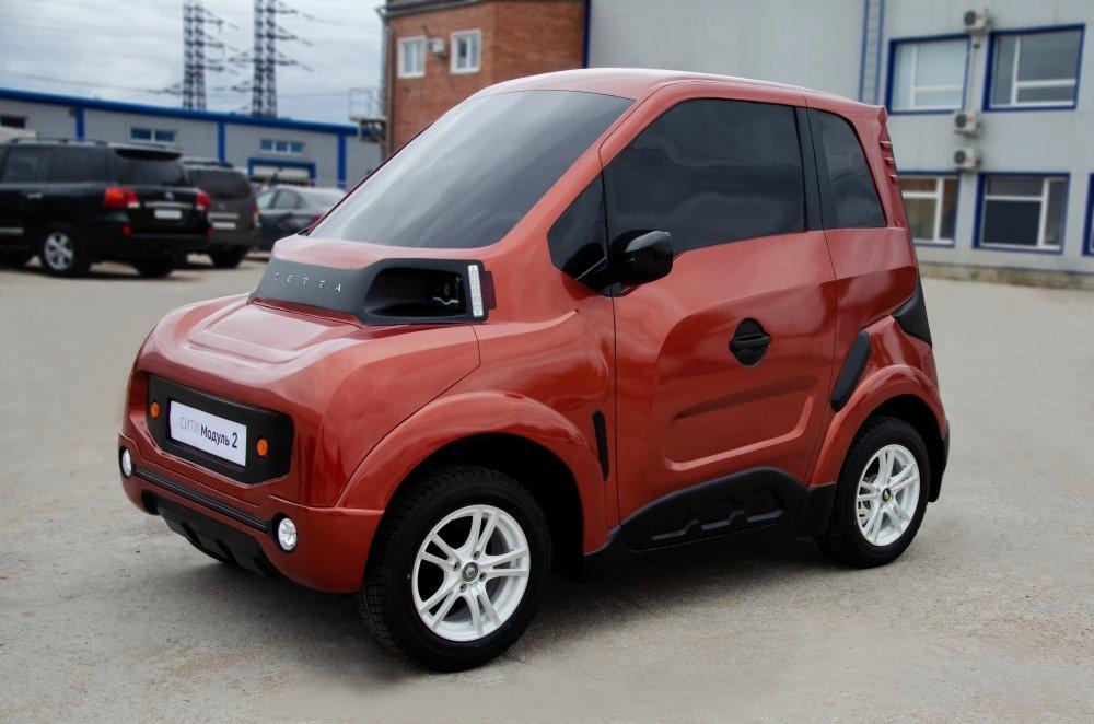 Серийное производство электромобиля Zetta планируют начать в Тольятти в конце года