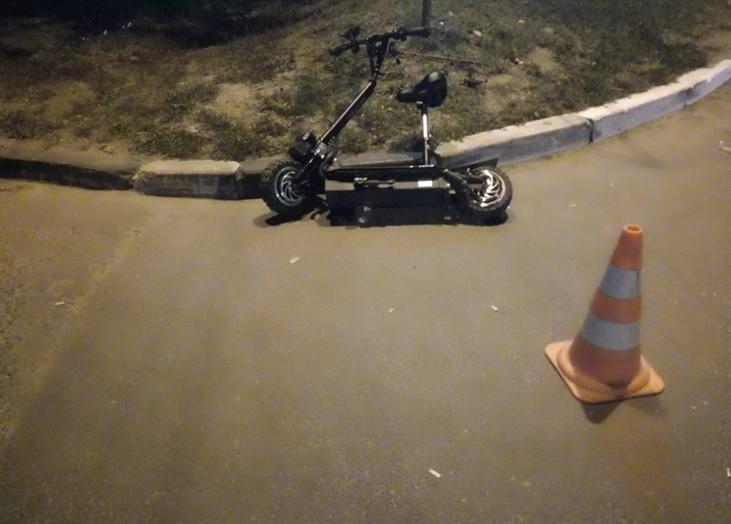 В Тольятти «Газель» сбила пешехода на электросамокате
