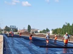 В Тольятти строительство дорожной развязки по ул. Офицерской идет по графику