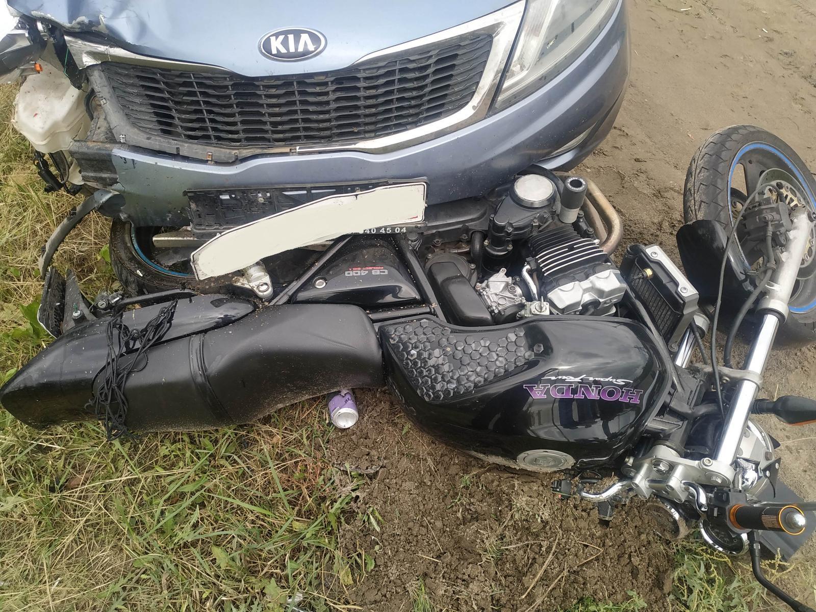 Мотоциклист пострадал в нелепом ДТП под Тольятти