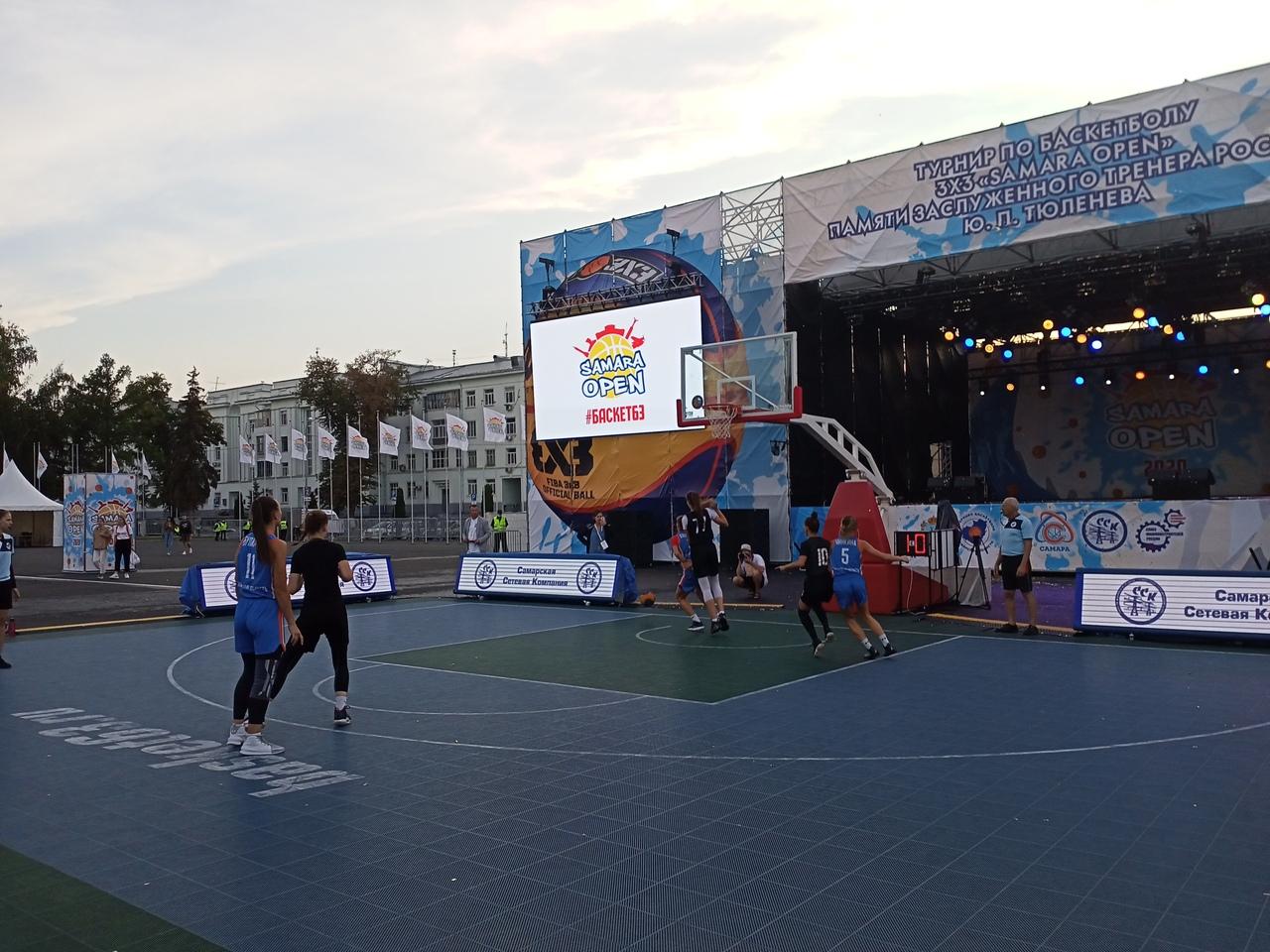 В турнире «Samara Open» приняли участие 480 баскетболистов