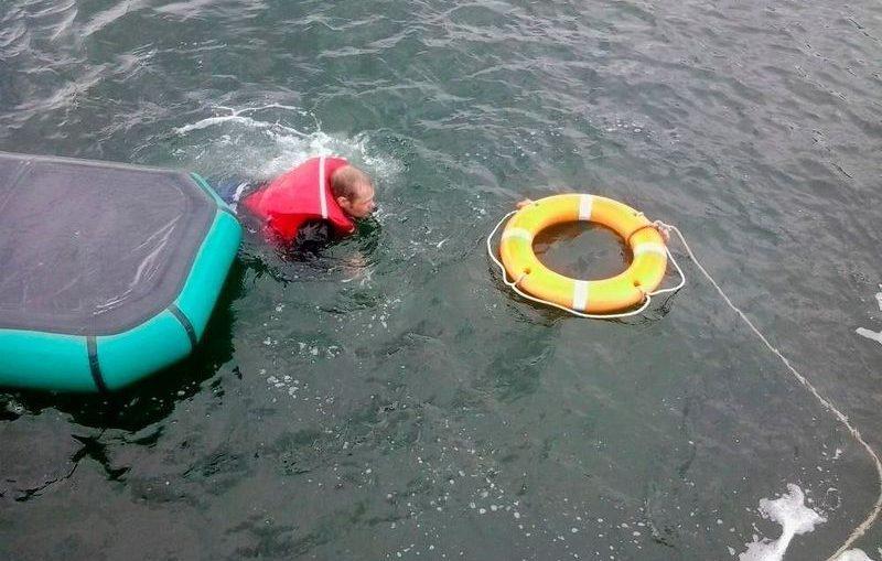 На Волге в Самарской области теплоход протаранил лодку с рыбаком