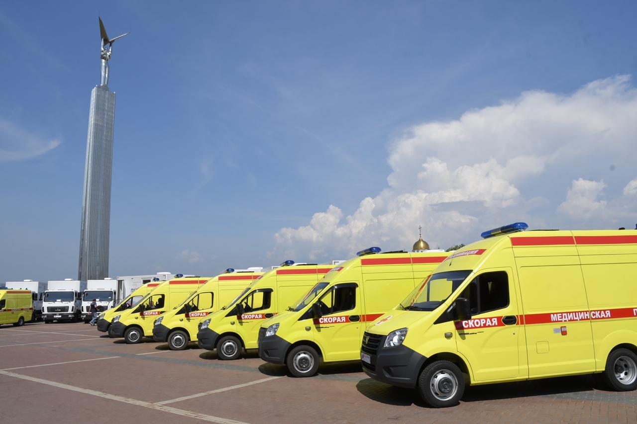 Парк автомобилей скорой помощи Самарской области за три года обновлен почти на 90%