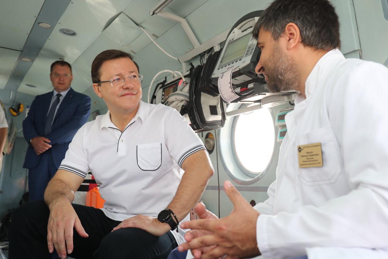 Впервые за 37 лет в Самарской области возобновилась работа санавиации