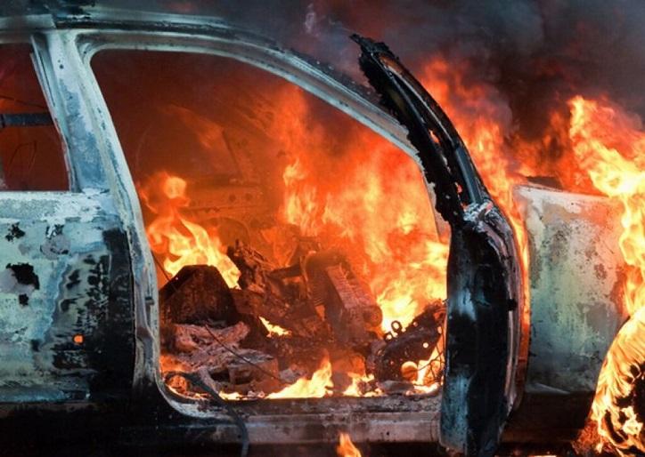 Тольяттинец угнал и сжег чужой автомобиль