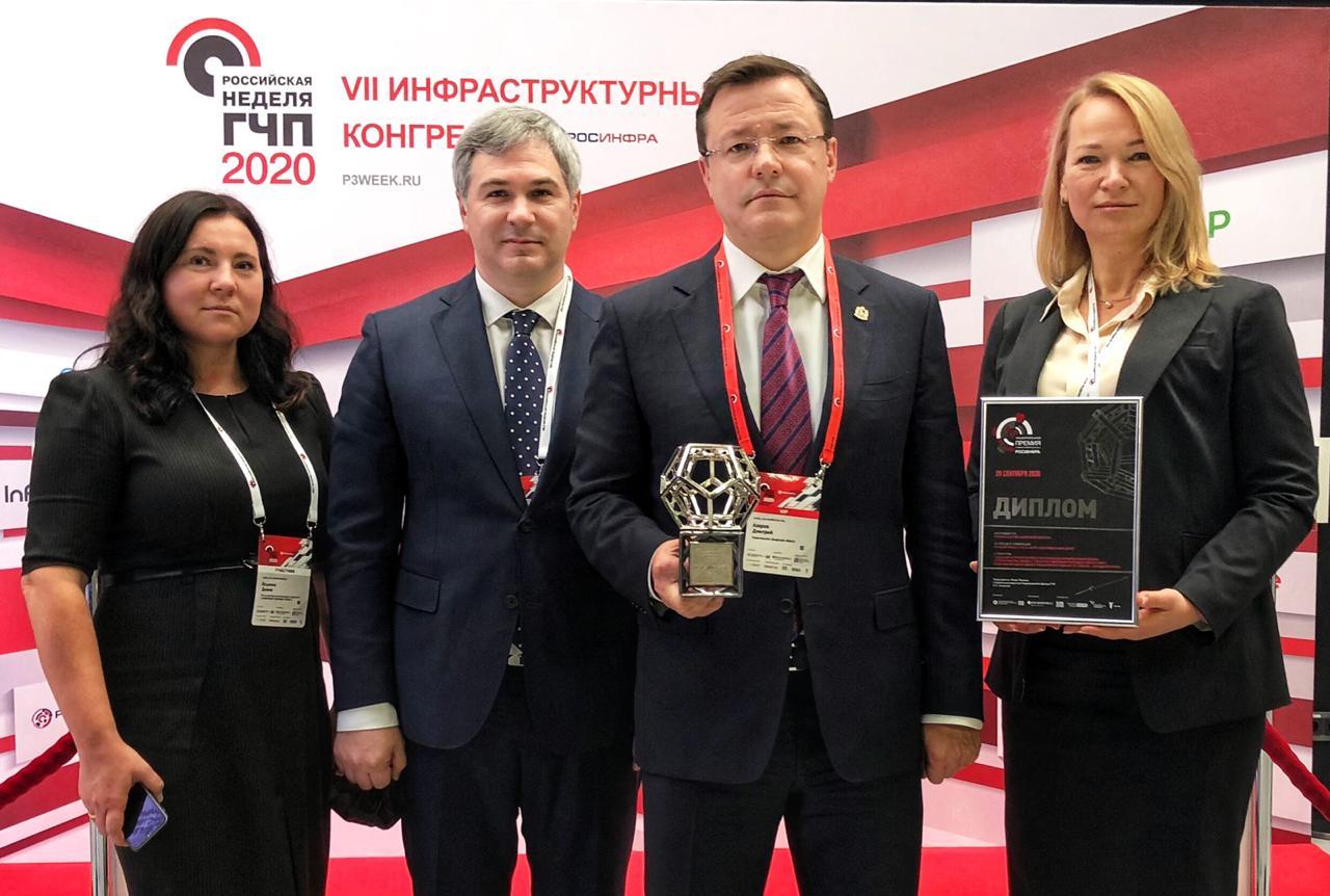 Самарская область стала лидером среди регионов страны по уровню развития государственно-частного партнерства