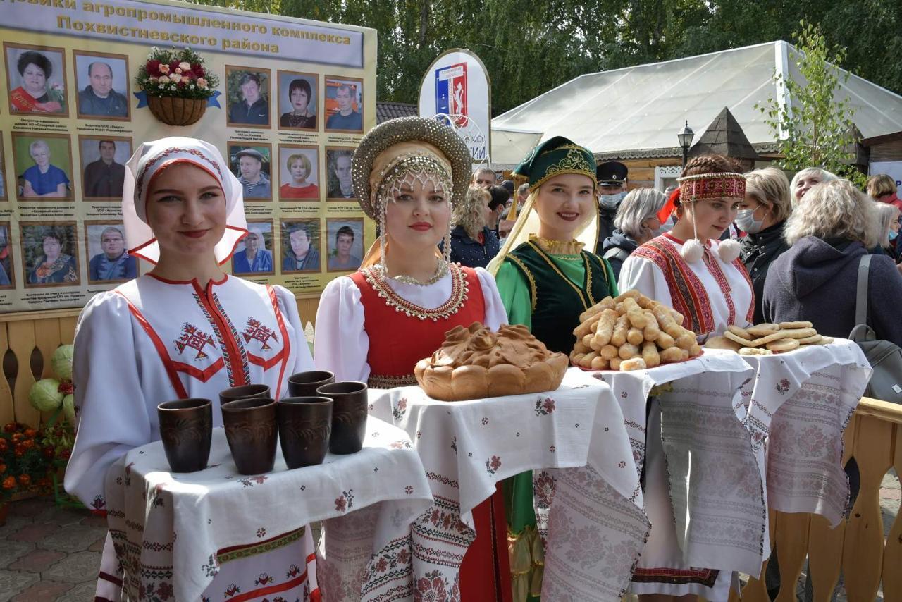 В Самарской области открылась Поволжская агропромышленная выставка