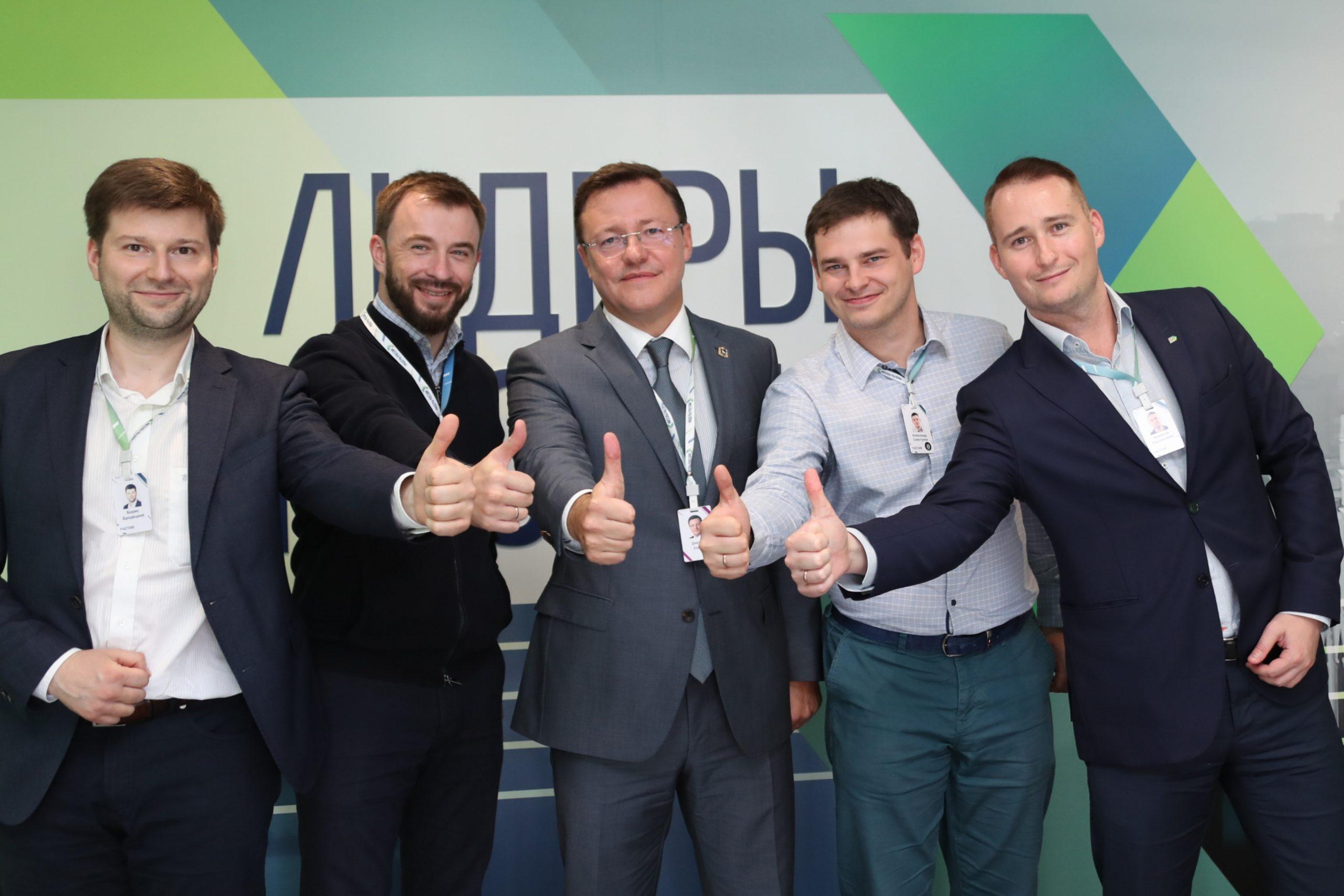 Дмитрий Азаров ответил на вопросы финалистов конкурса «Лидеры России»