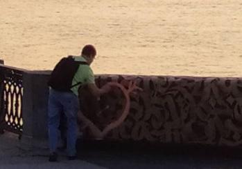 Разыскивается «романтик», испортивший мурал Покраса Лампаса в Самаре