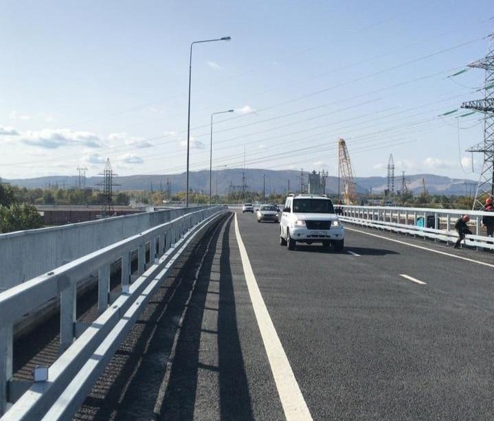 Новая развязка на М-5 в Тольятти частично открыта