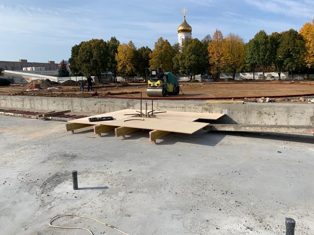 В Тольятти благоустраивают новый сквер