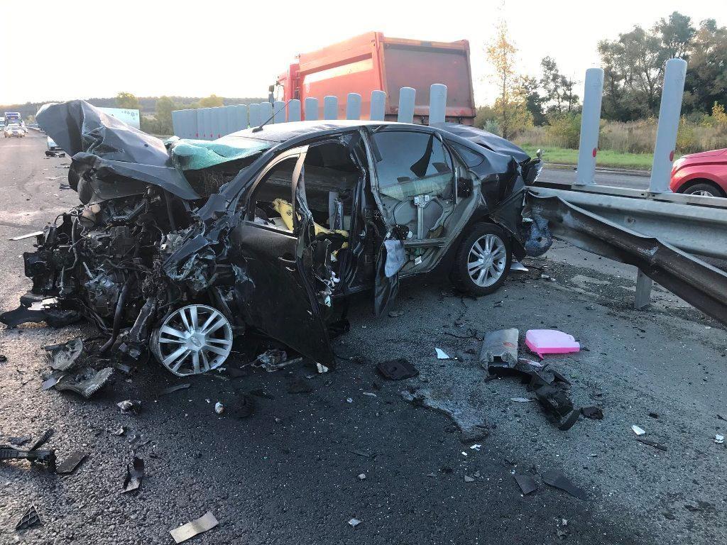 В полиции сообщили подробности страшной аварии под Тольятти