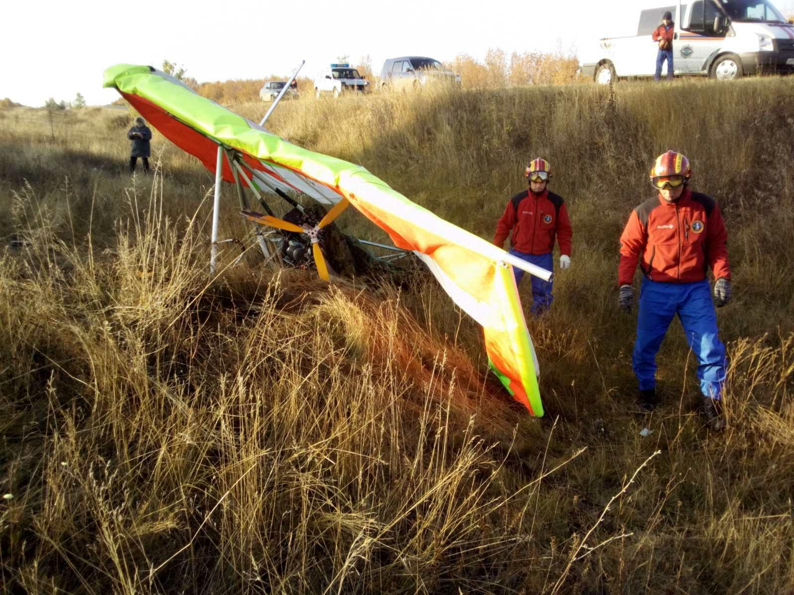 В Самарской области потерпел крушение дельтаплан