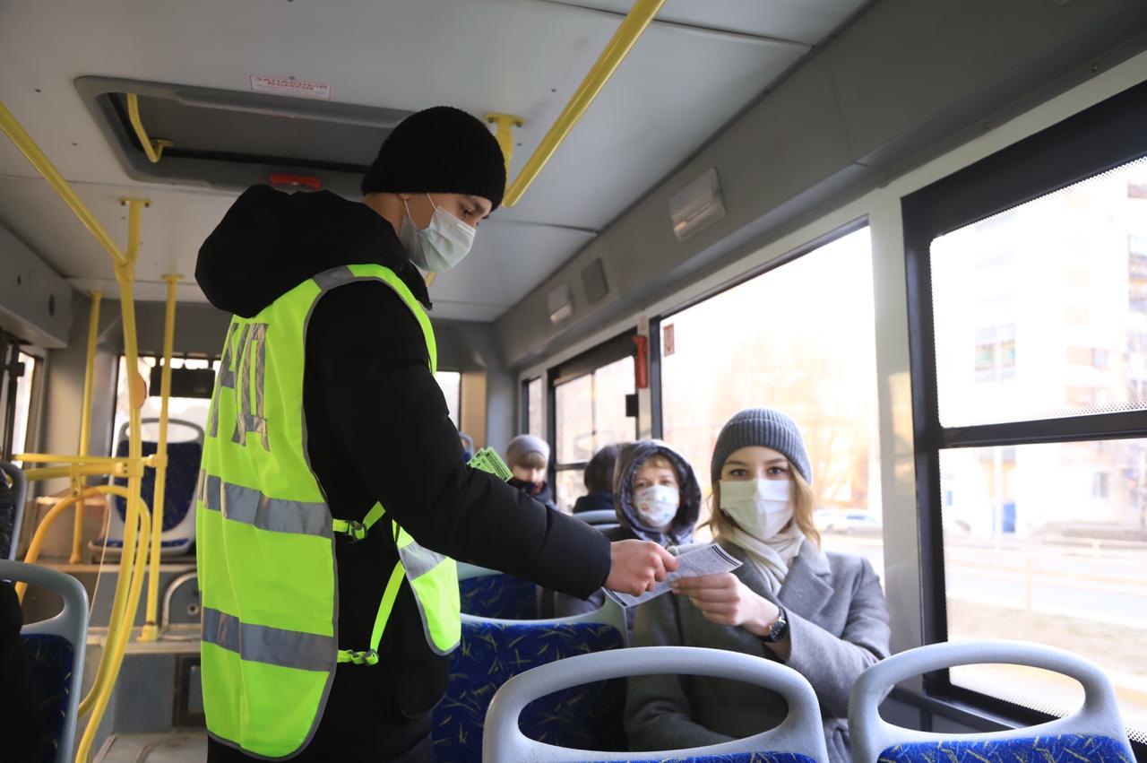 В Самаре начнут штрафовать пассажиров без масок