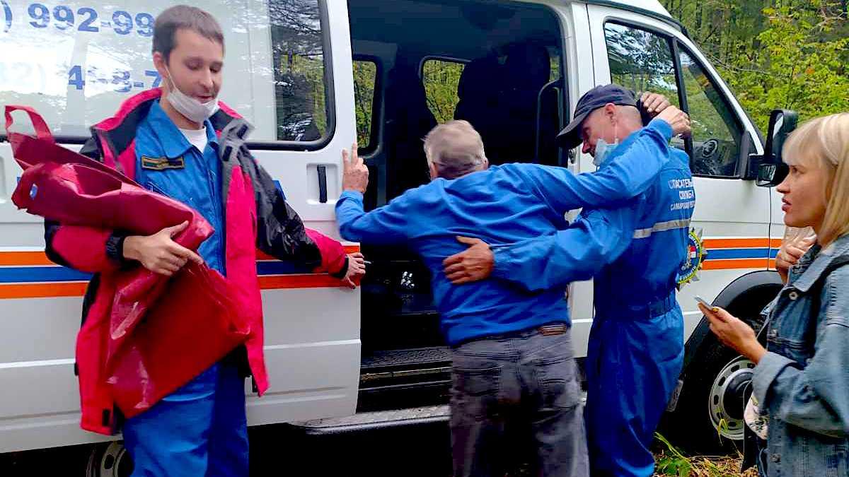 Под Тольятти из леса эвакуировали мужчину
