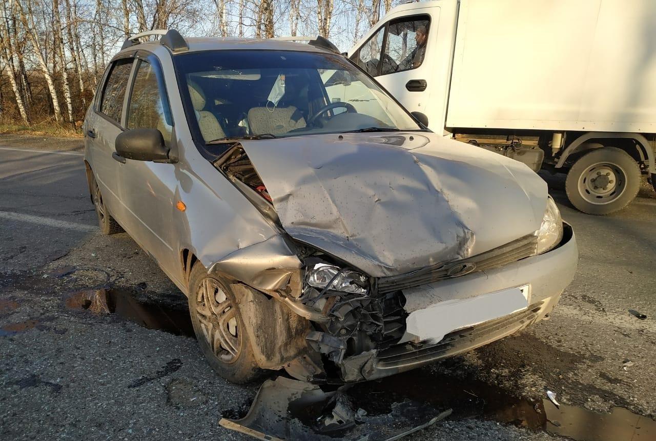70-летний водитель устроил аварию с пострадавшими на трассе под Тольятти