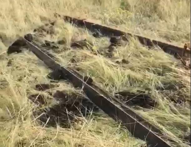 Житель Самарской области в одиночку похитил 2 тонны рельсов