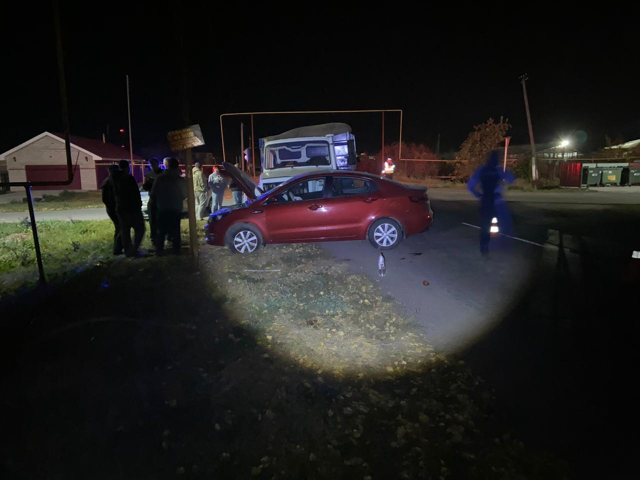 Под Тольятти в аварии с грузовиком пострадала женщина