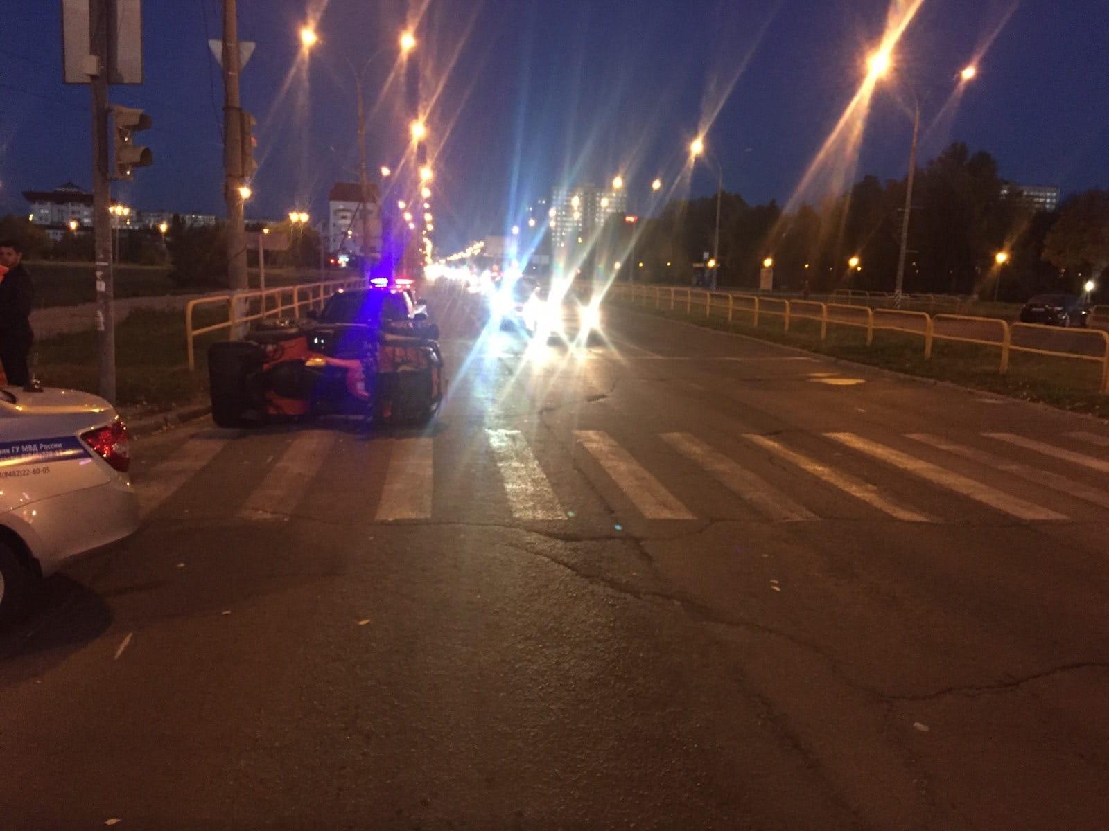 В Тольятти водитель квадроцикла сбил старушку