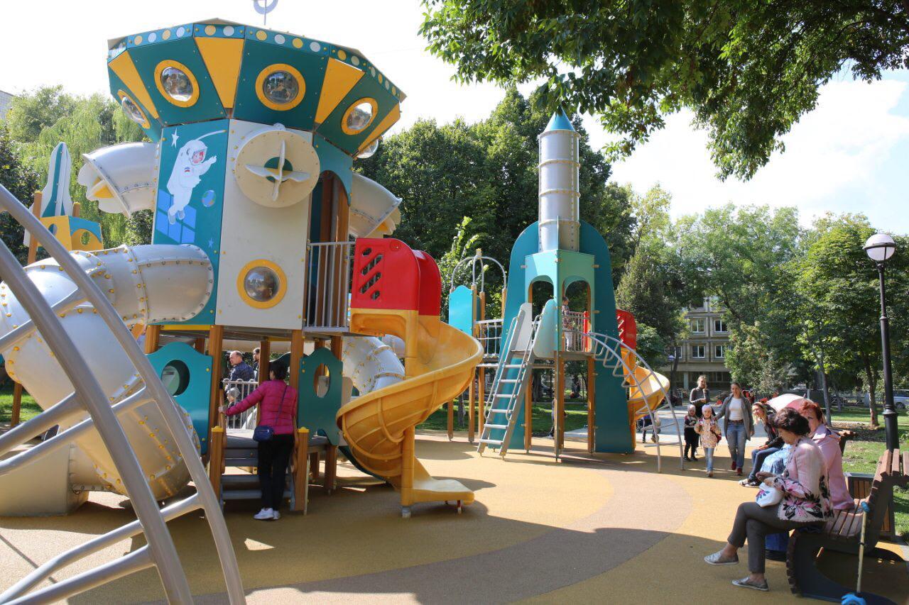 Под Тольятти в селах обновили 8 общественных пространств и 4 двора