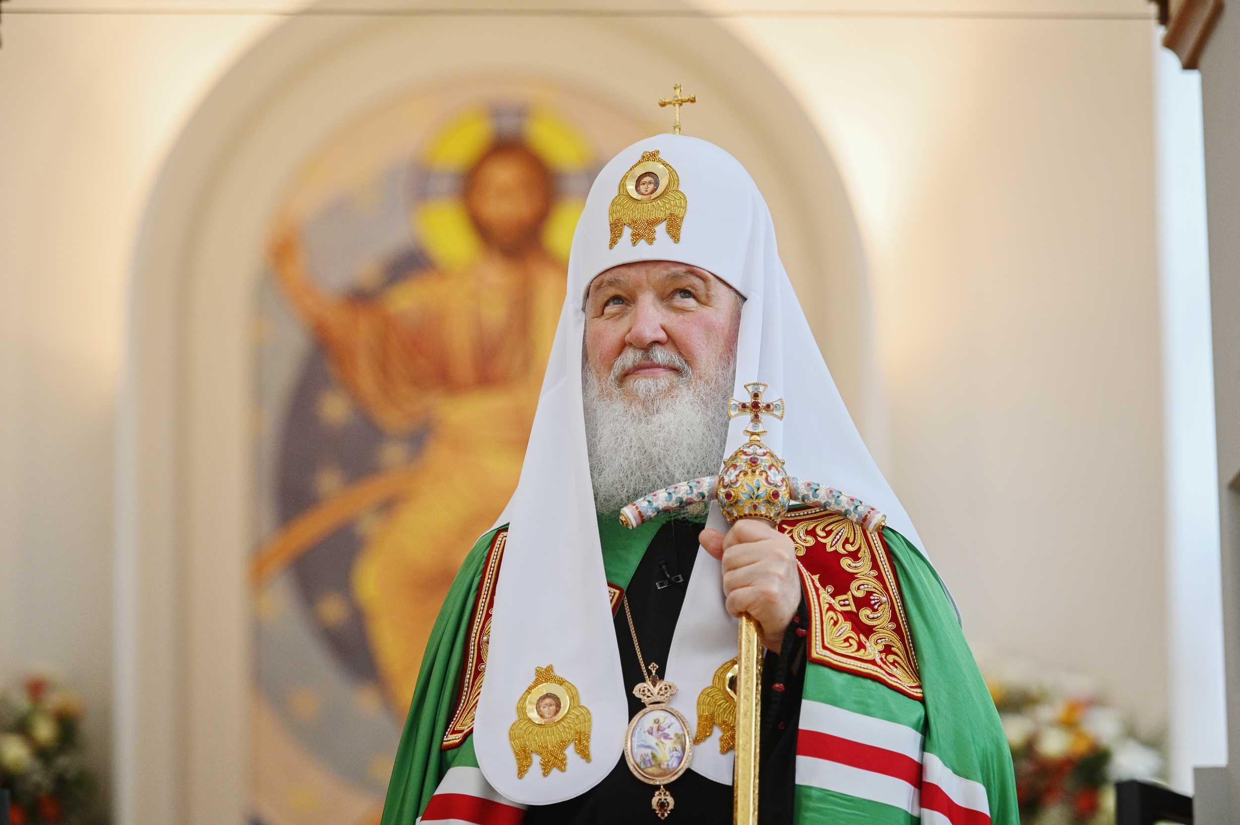 Патриарх Кирилл ушел на карантин