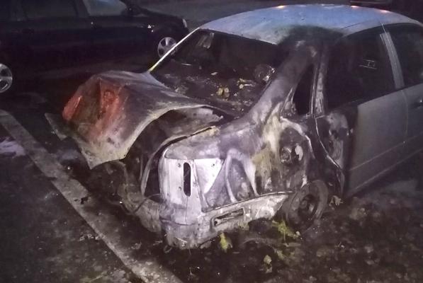 В Тольятти ночью сгорел автомобиль