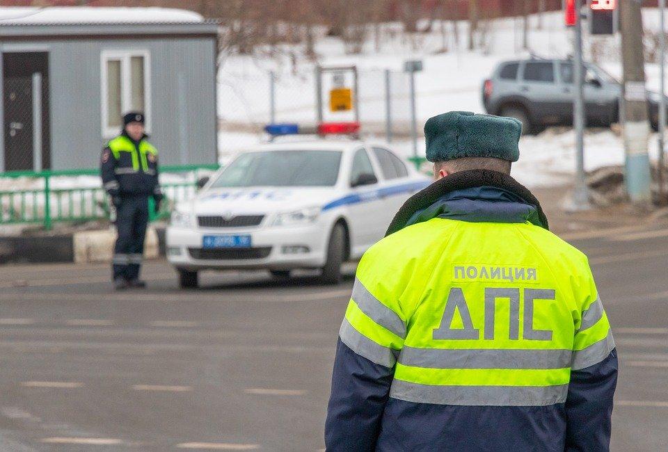 Под Тольятти пьяный водитель попался полиции