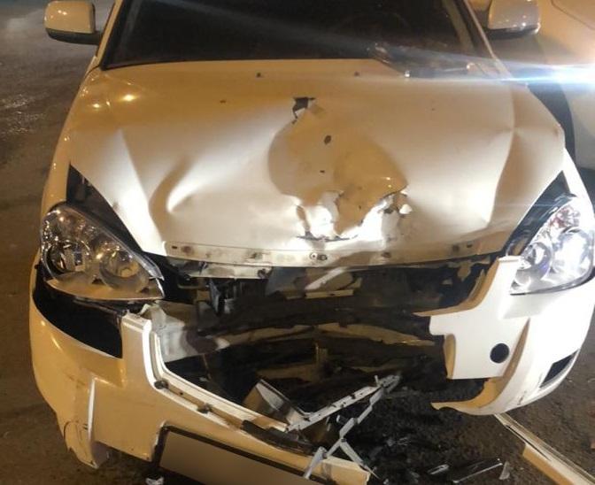 В Тольятти пьяный водитель без прав устроил аварию с тремя машинами