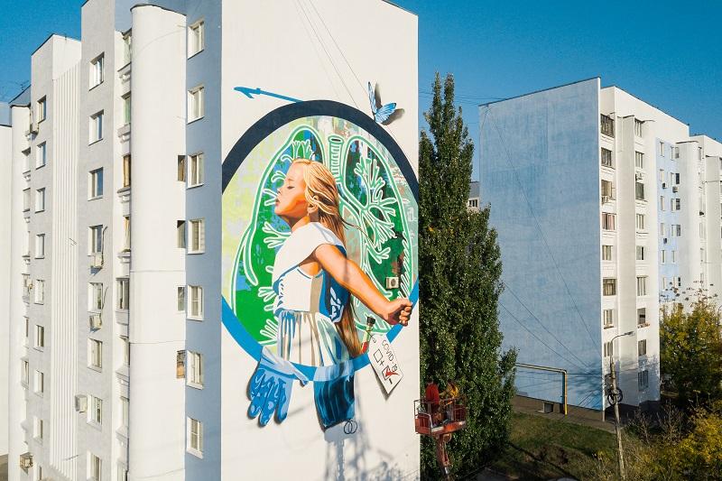 Два мурала из Самарской области признаны лучшим в конкурсе стрит-арта ПФО
