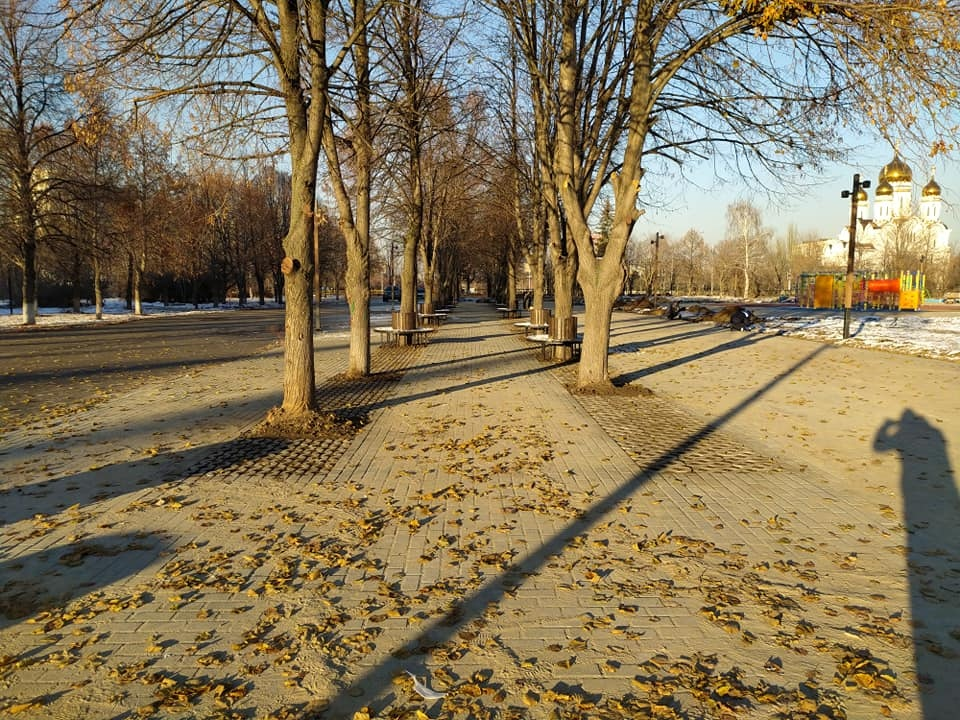 Сквер Жилкина в Тольятти готов на 80 %